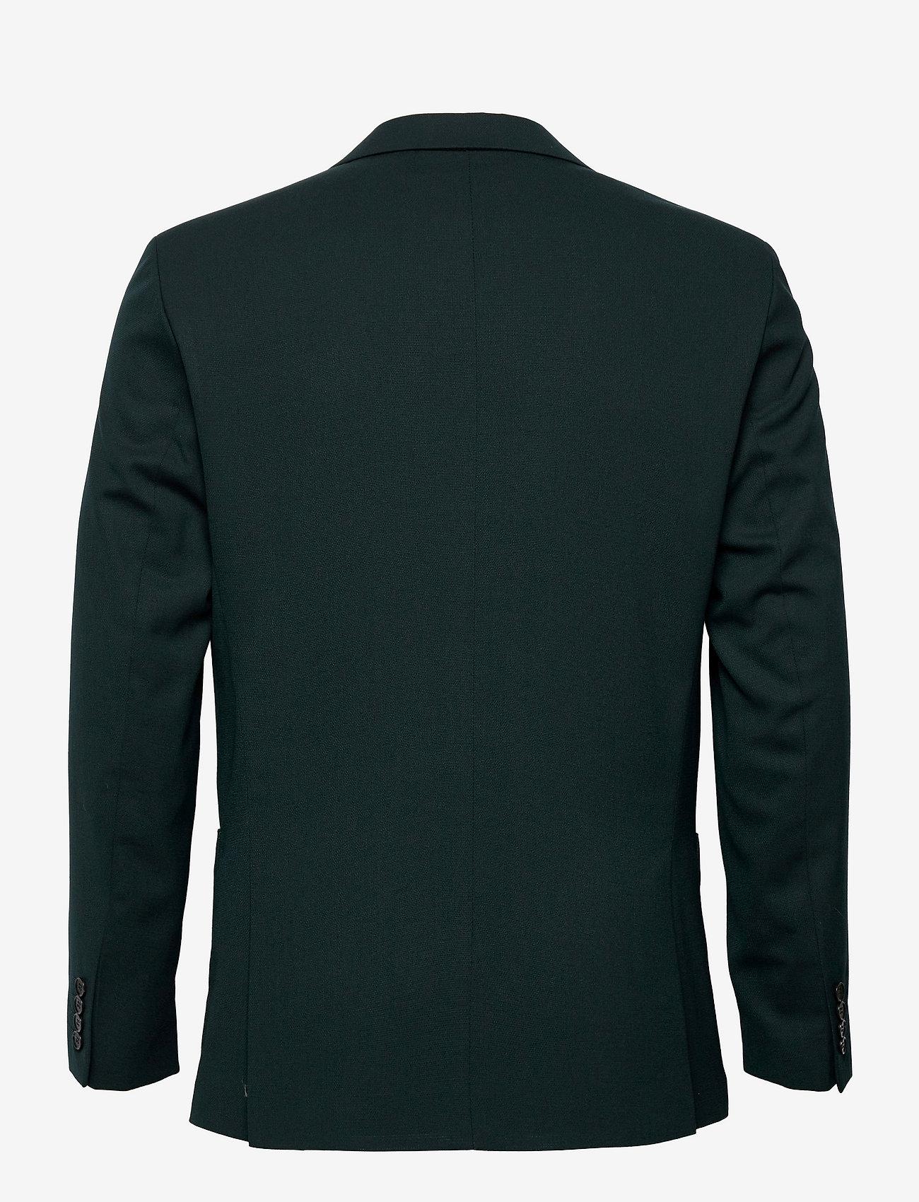 Selected Homme - SLHSLIM-JACKBILL DARK GREEN BLZ B - blazers met enkele rij knopen - dark green - 1