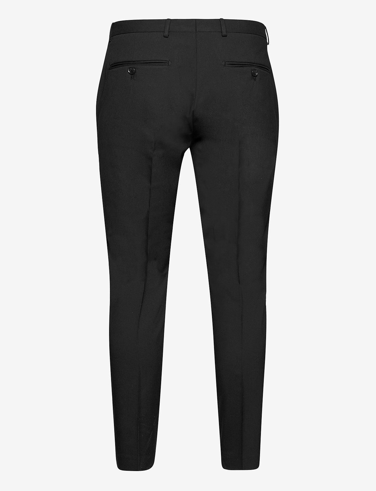 Selected Homme - SLHSLIM-MYLOLOGAN BLACK CROP TRS B - casual broeken - black - 1