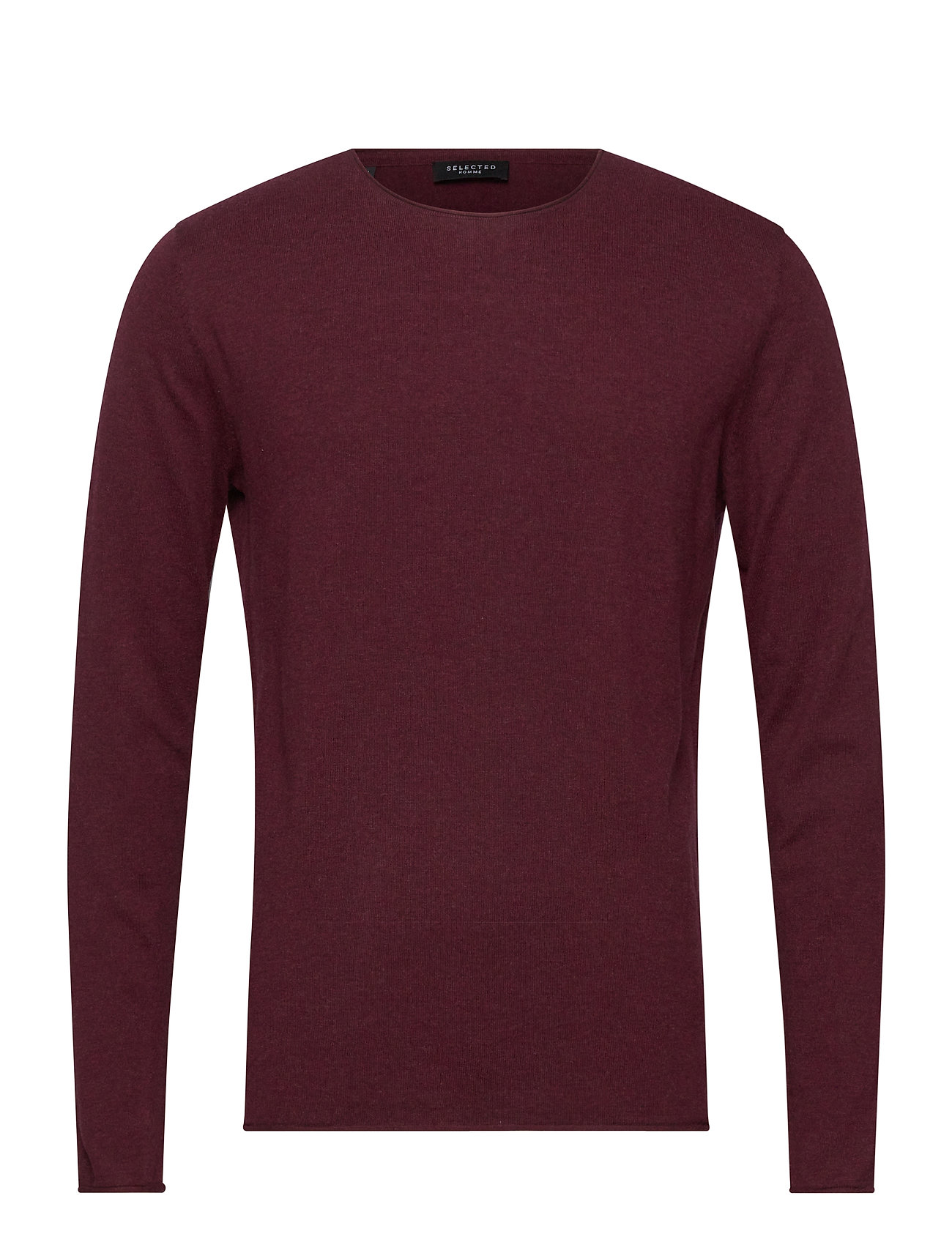 Selected Homme SHDDOME CREW NECK NOOS - WINETASTING