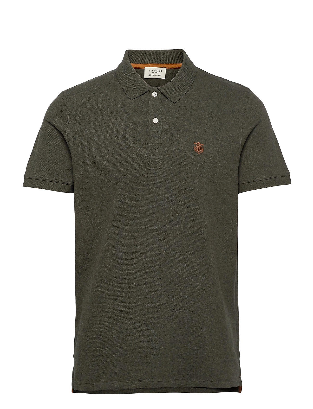 Selected Homme SHDARO SS EMBROIDERY POLO NOOS - ROSIN