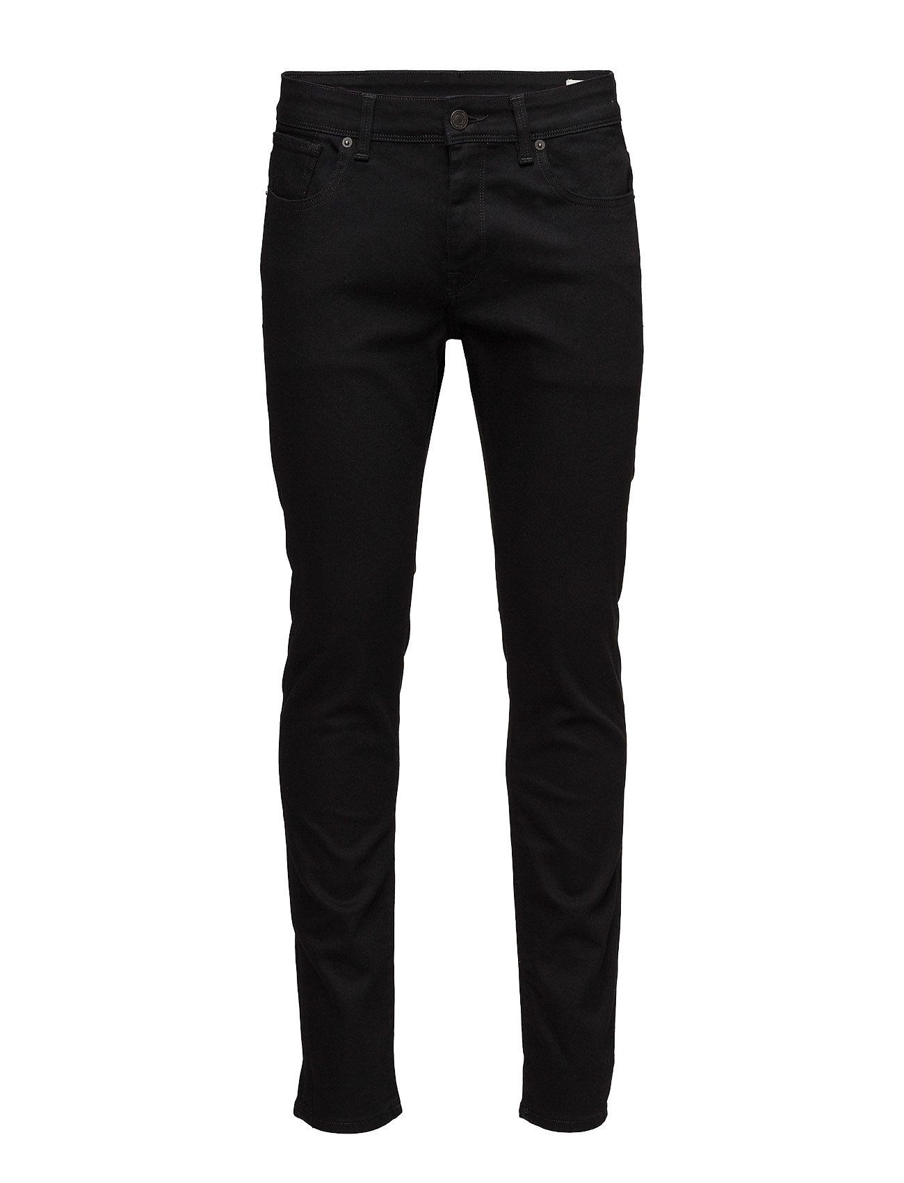 Selected Homme SLHSLIM-LEON 1001 BLACK ST JNS W NOOS - BLACK