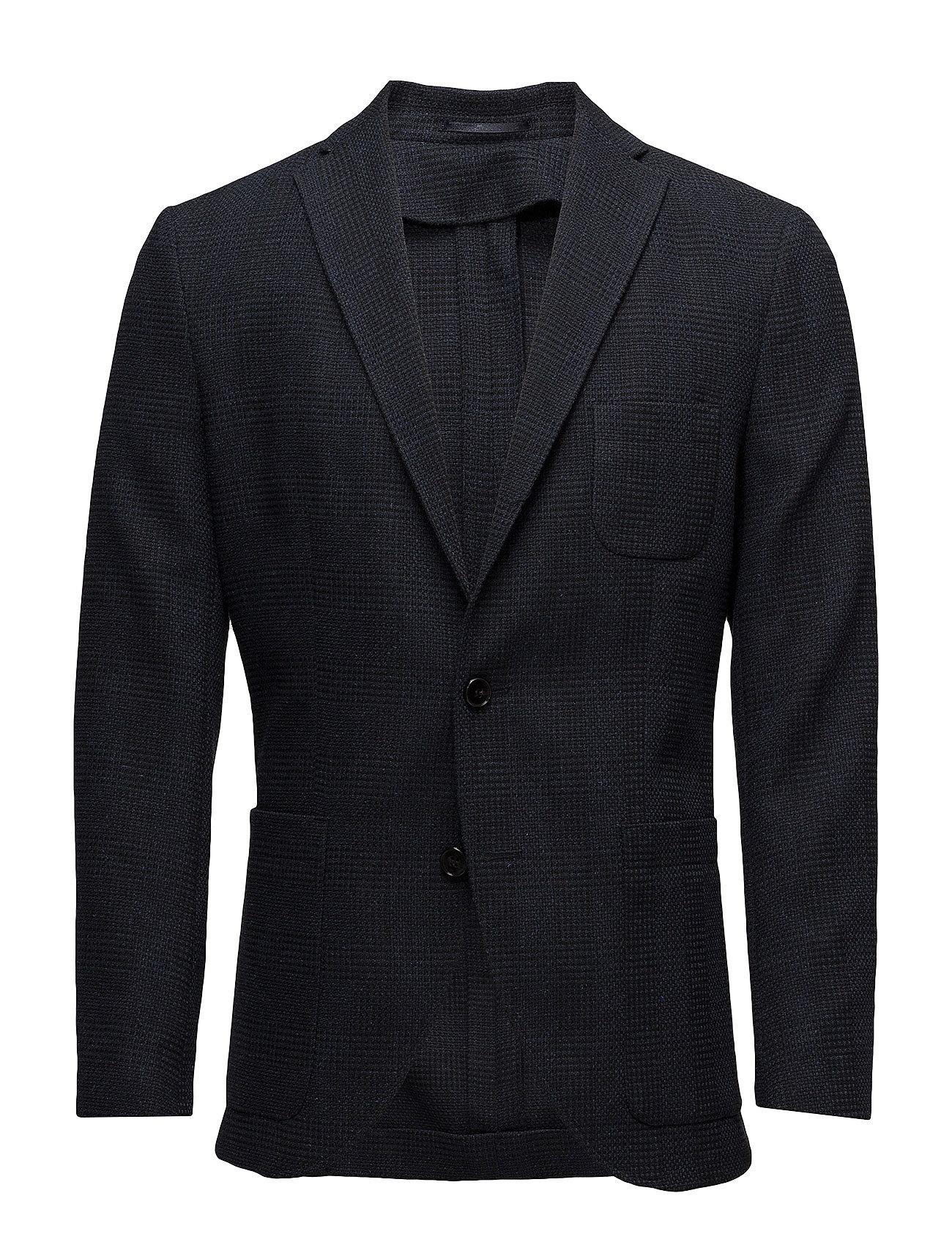 promo code 34931 e7fbc shdone-milano blue/black check blazer