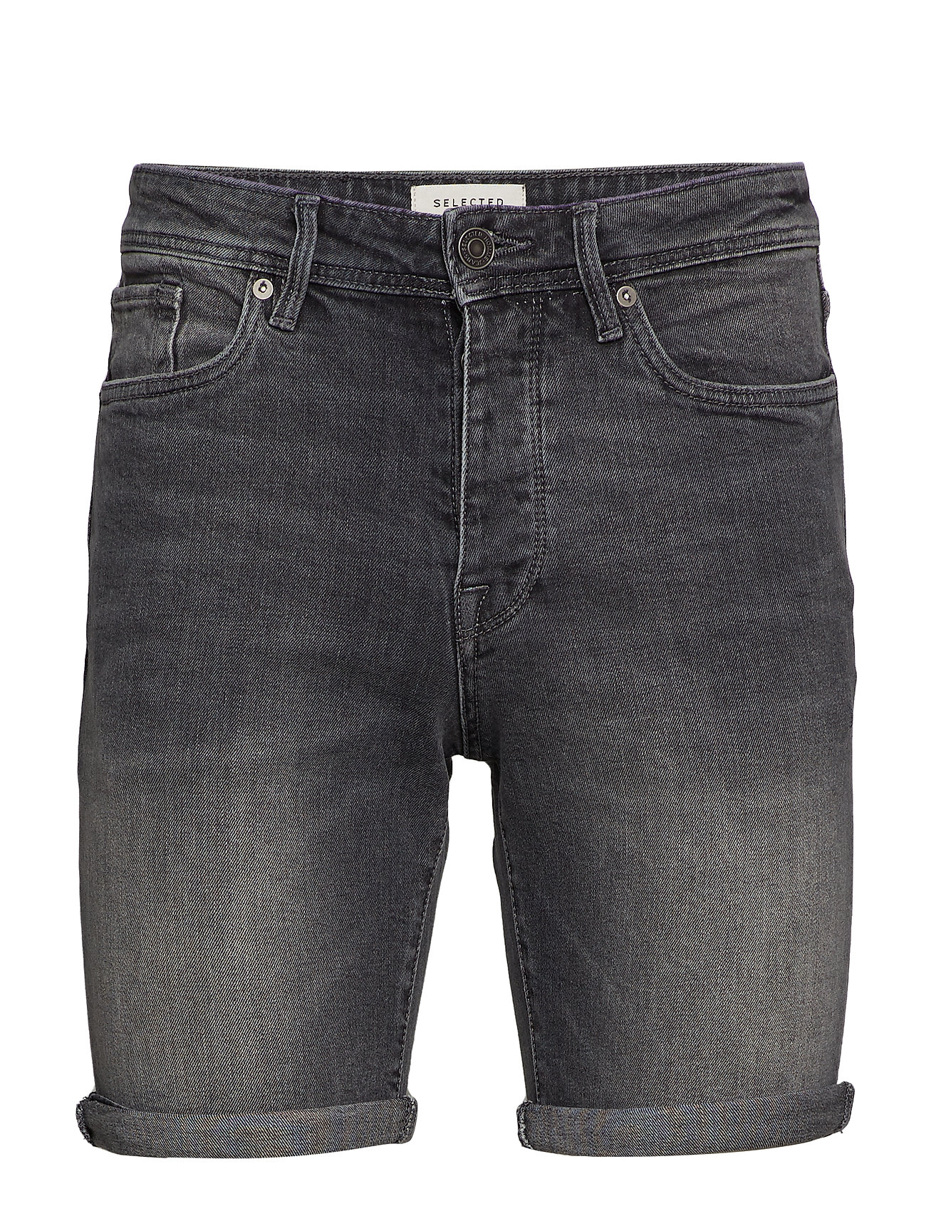 Selected Homme SLHALEX 309 LT. grå ST DENIM SHORTS W Shorts