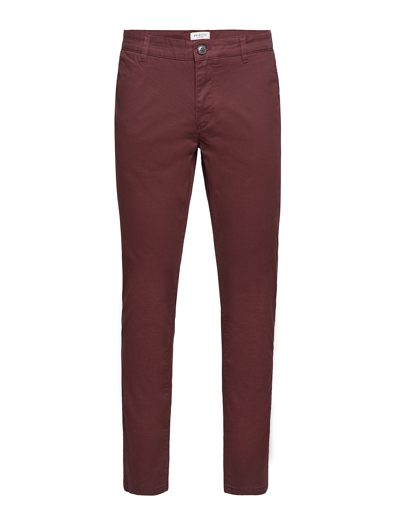 Selected Homme SLHSTRAIGHT-PARIS B. CHOCO PANTS W NOOS - BITTER CHOCOLATE