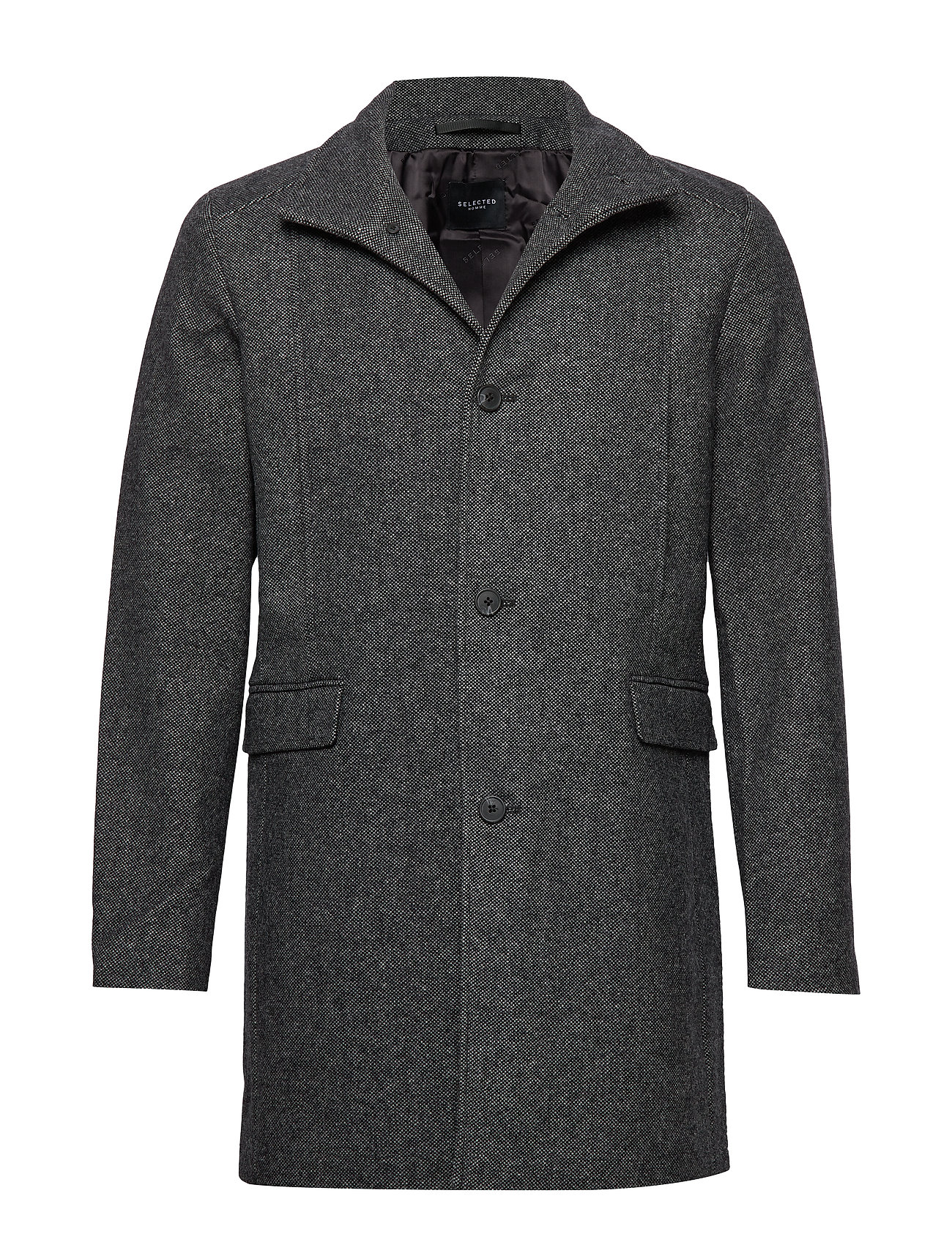 Selected Homme SLHMOSTO WOOL COAT B - BELUGA
