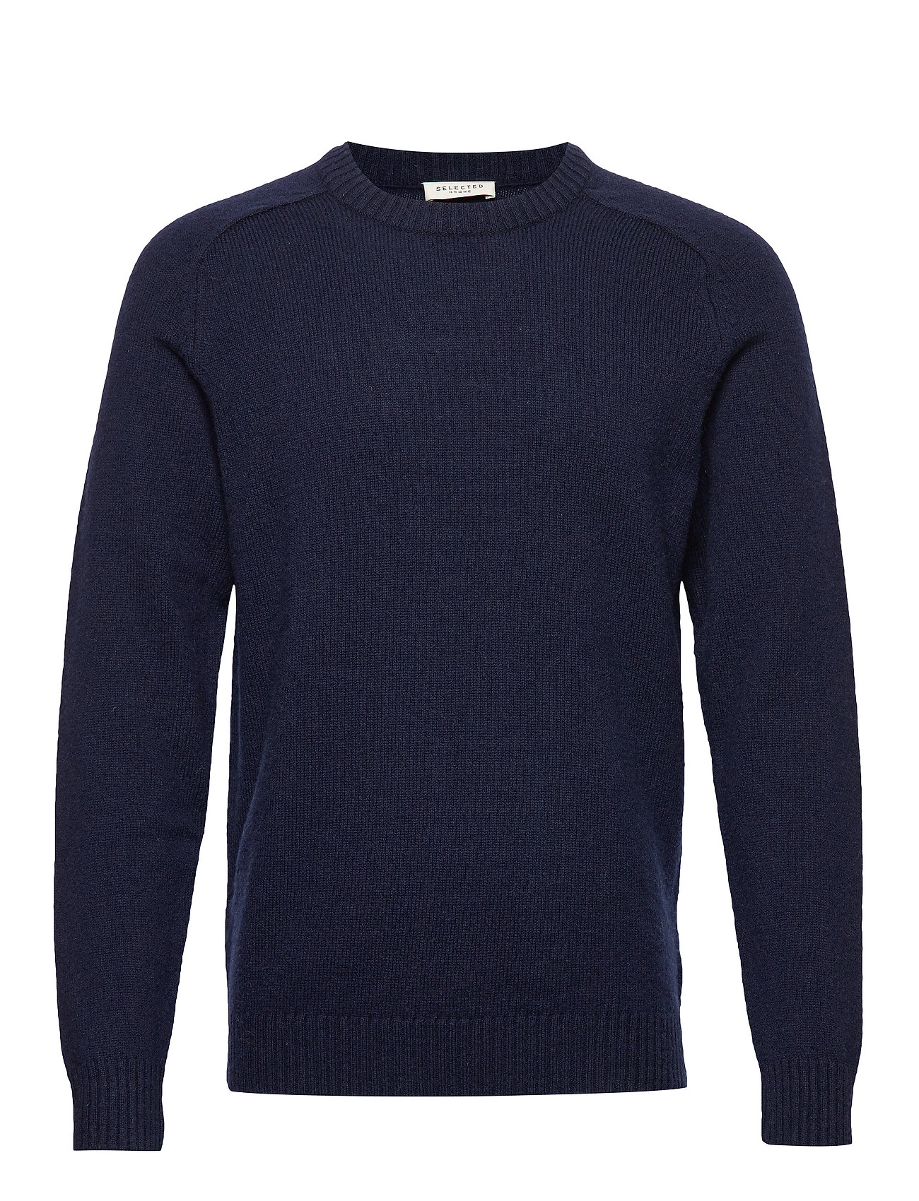 Selected Homme SLHNEWCOBAN WOOL CREW NECK W - SKY CAPTAIN