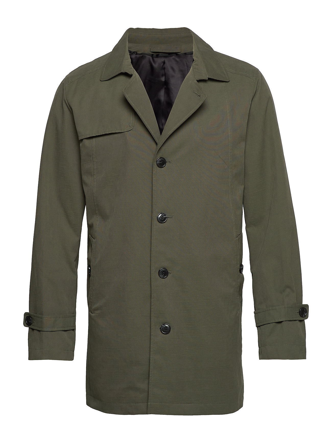 Selected Homme SLHTIMES TRENCH COAT B - FOREST NIGHT