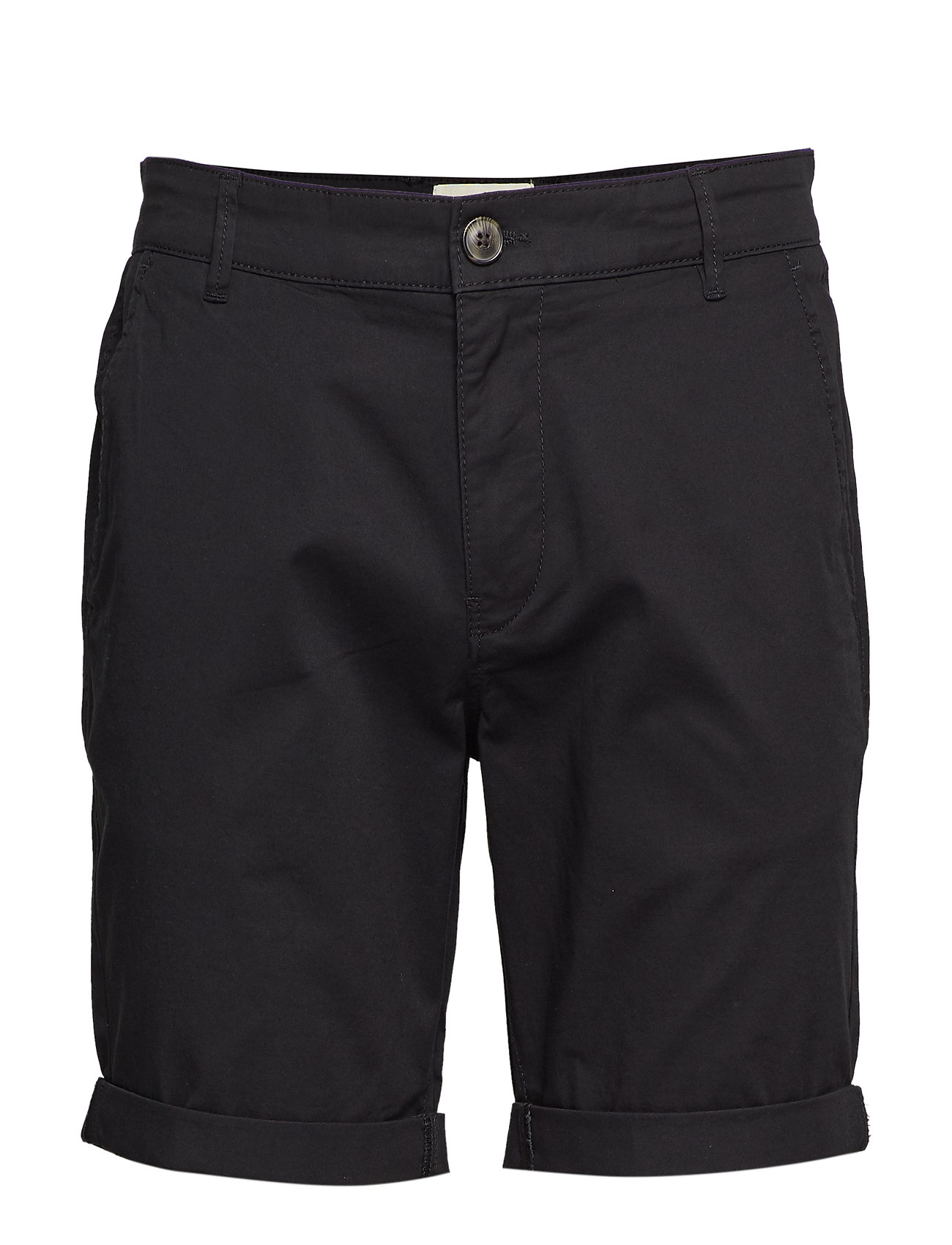 Selected Homme - SLHSTRAIGHT-PARIS SHORTS W NOOS - chino's shorts - black - 0