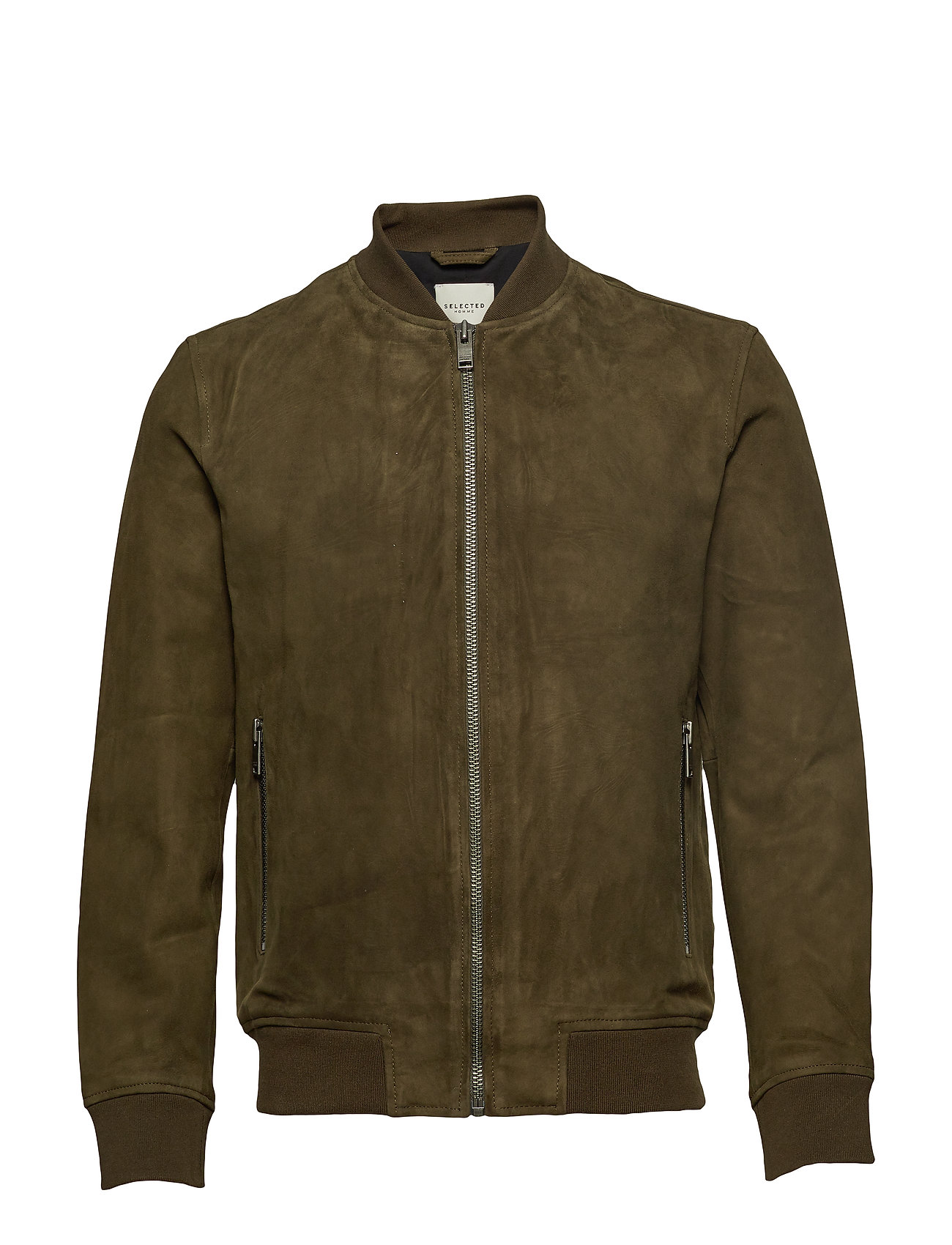 Selected Homme SLH B-01 BOMBER SUEDE JKT W - ROSIN