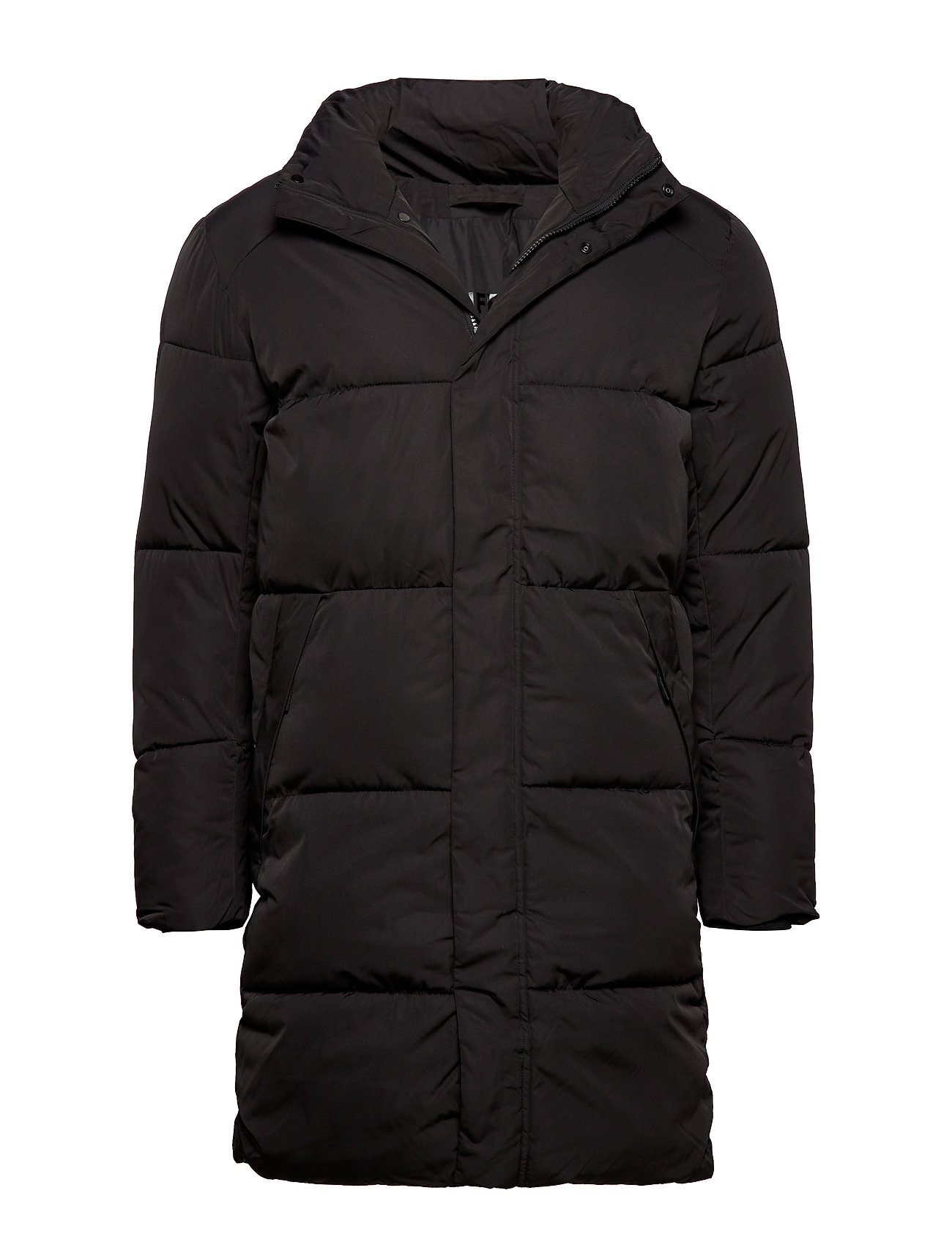 Selected Homme SLHPUFFER PARKA W - BLACK
