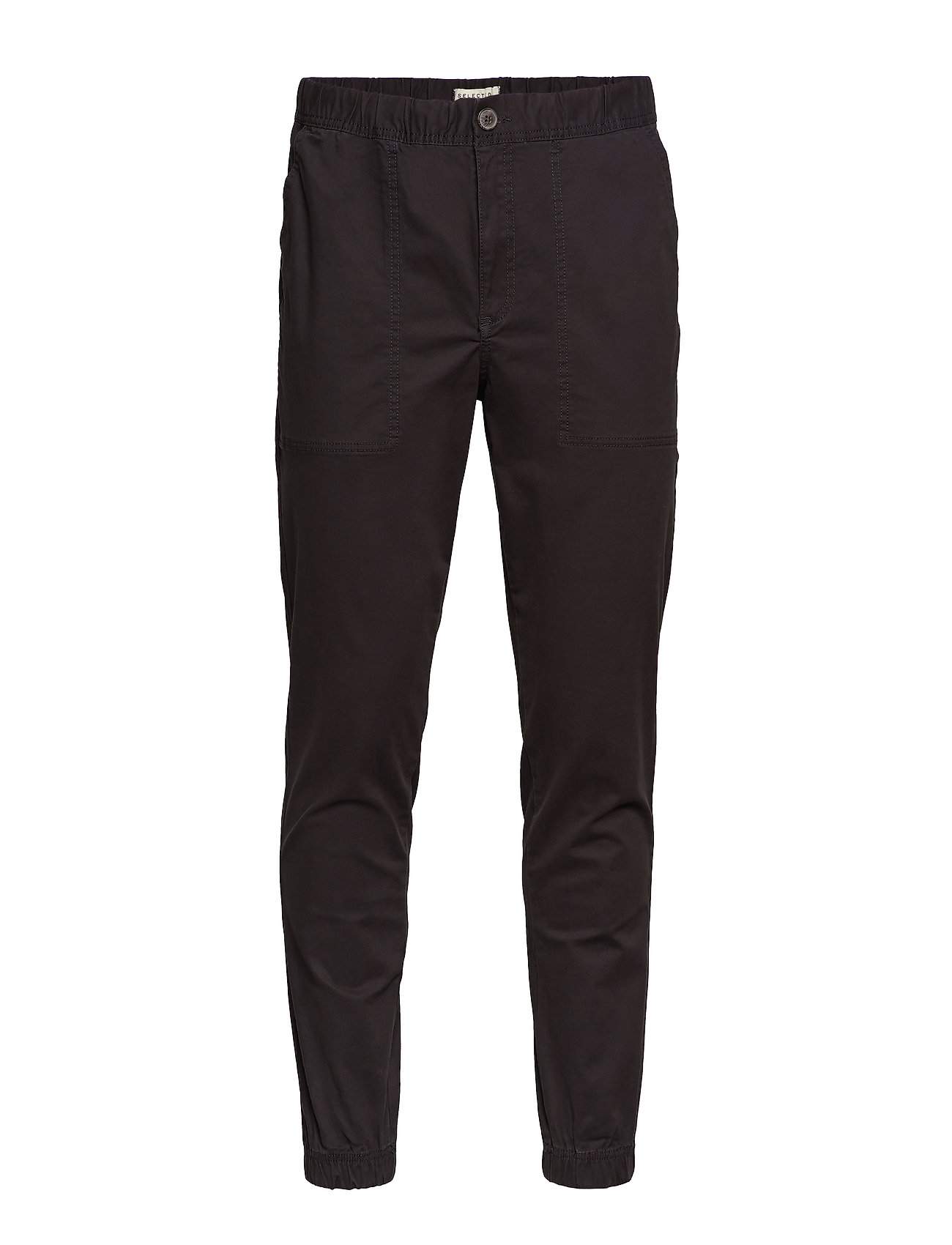 Selected Homme SLHSLIMTAPERED-MATEO PANTS W - BLACK