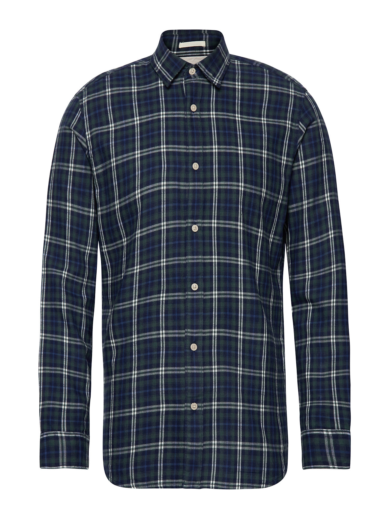 Selected Homme SLHSLIMWOOD SHIRT LS CHECK W - LIMOGES