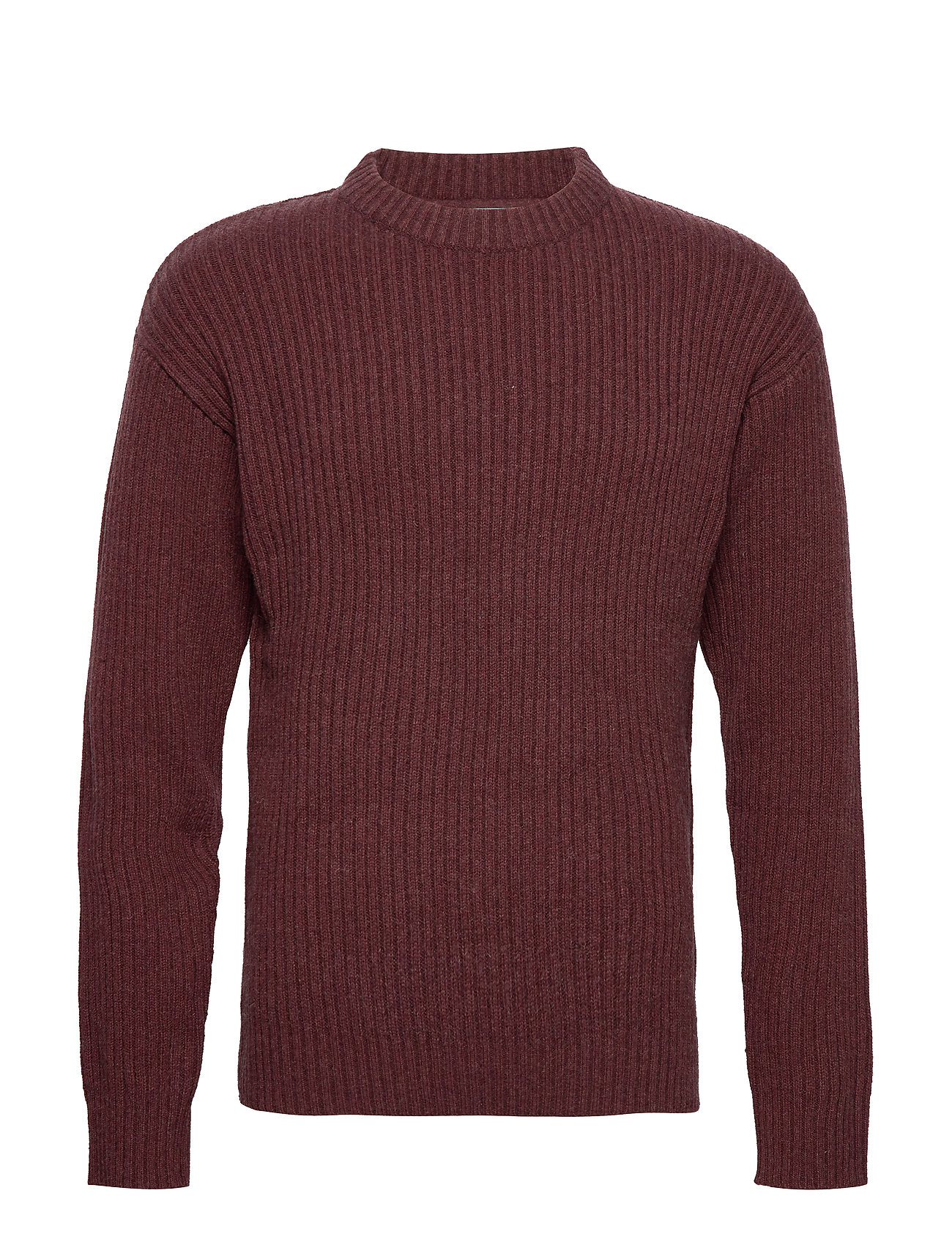 Selected Homme SLHROCK RIB CREW NECK W - ANDORRA