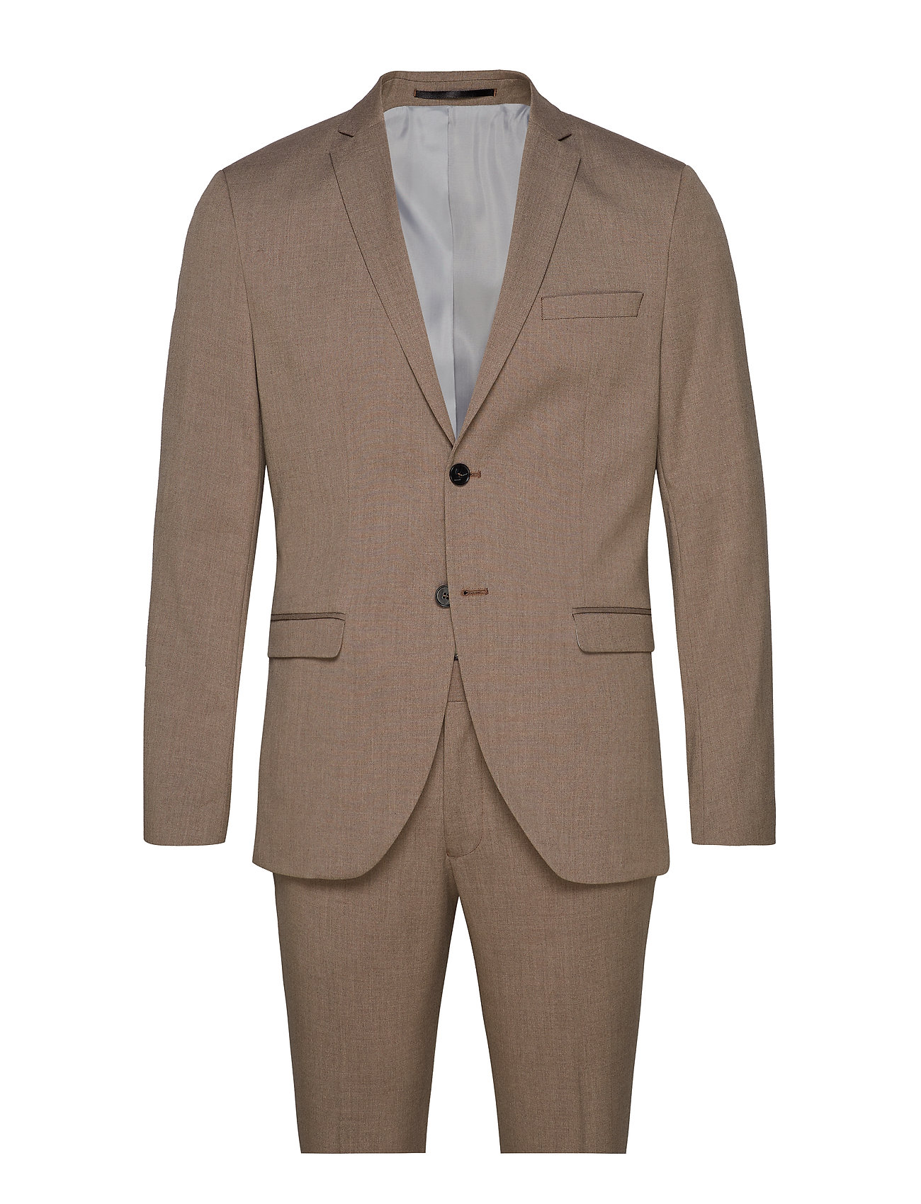 Selected Homme SLHSLIM-MYLOLOGAN LT. SAND SUIT B EX - SAND