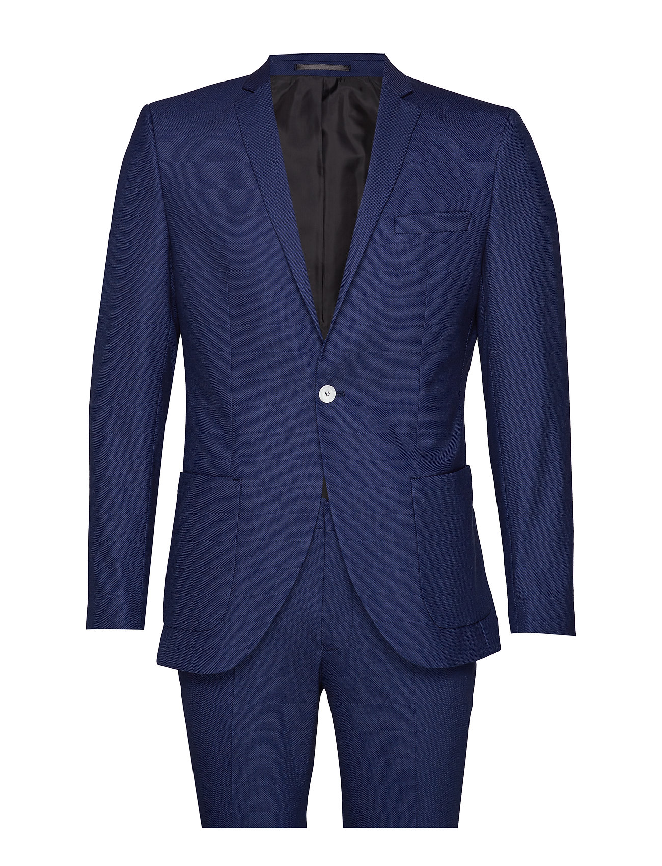 Selected Homme SLHSLIM-MATTNATE DK BLUE SUIT B EX - DARK BLUE
