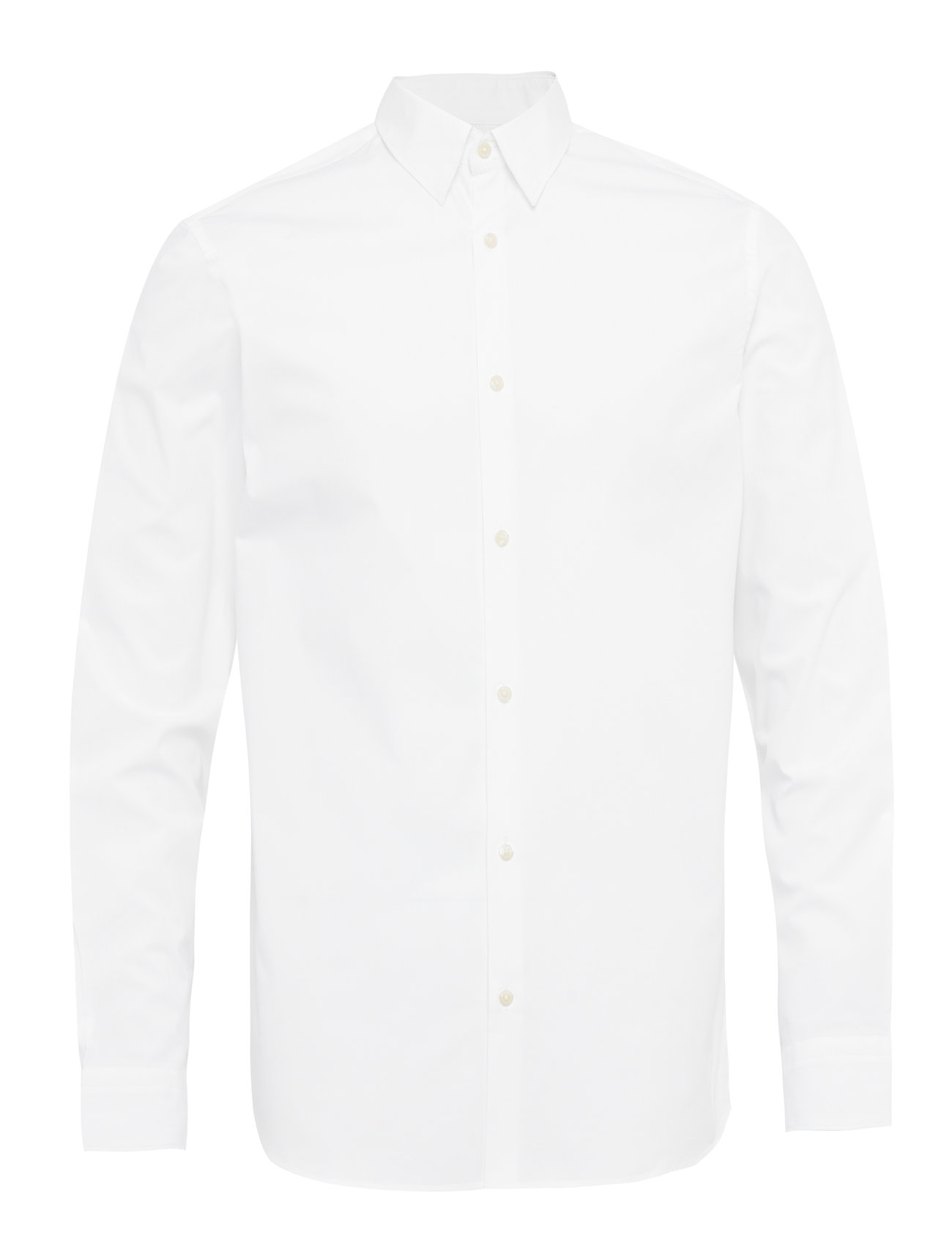 Selected Homme SLHSLIMMICHIGAN SHIRT LS B NOOS - BRIGHT WHITE