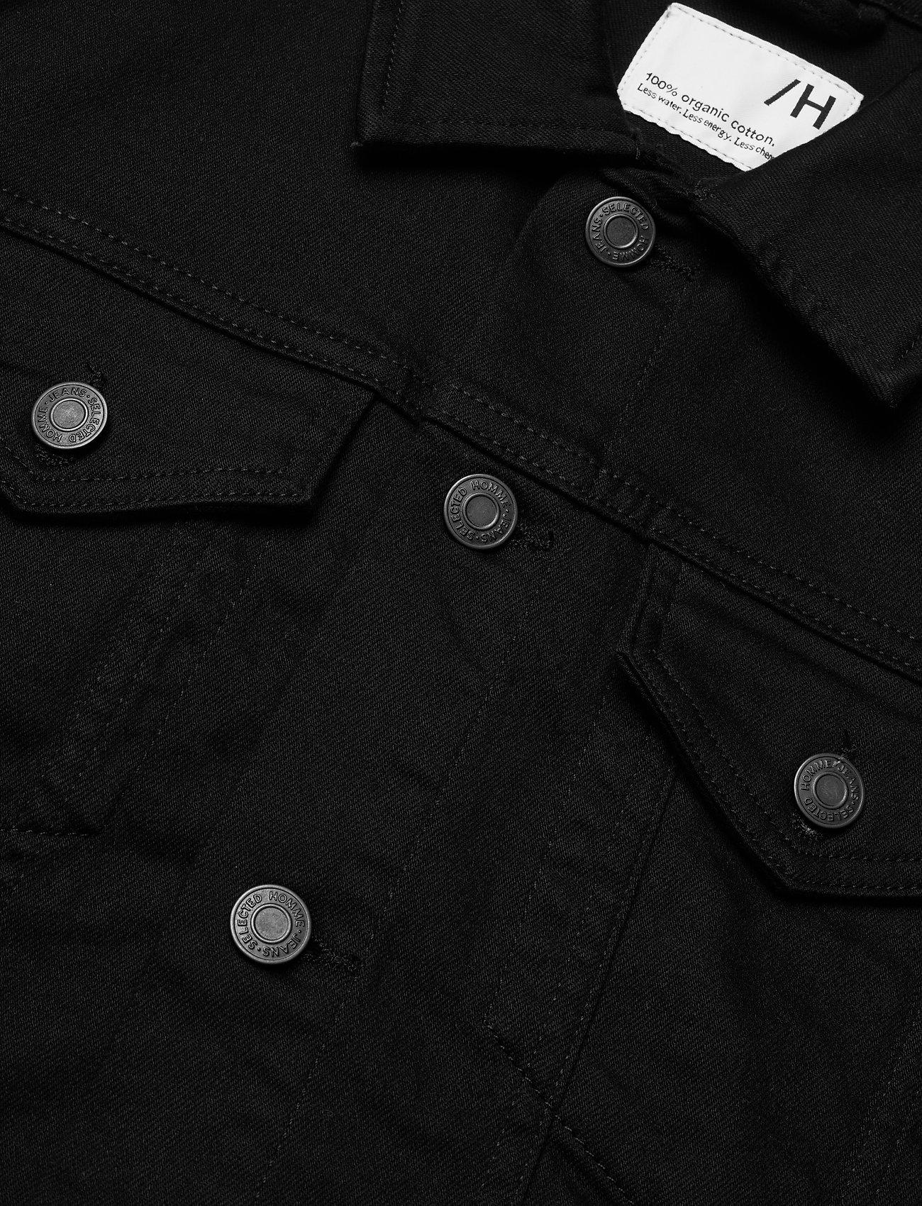 Selected Homme - SLHJEPPE 4001 BLACK DENIM JACKET U - vestes en jean - black denim - 3