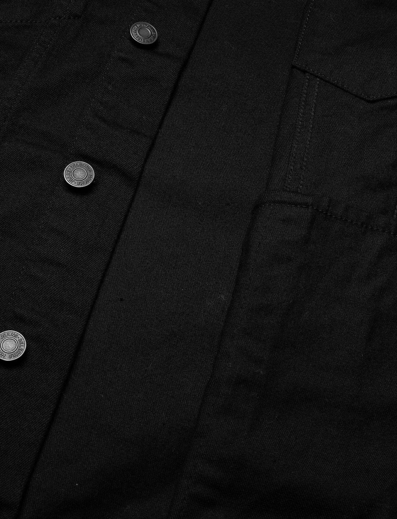 Selected Homme - SLHJEPPE 4001 BLACK DENIM JACKET U - vestes en jean - black denim - 5