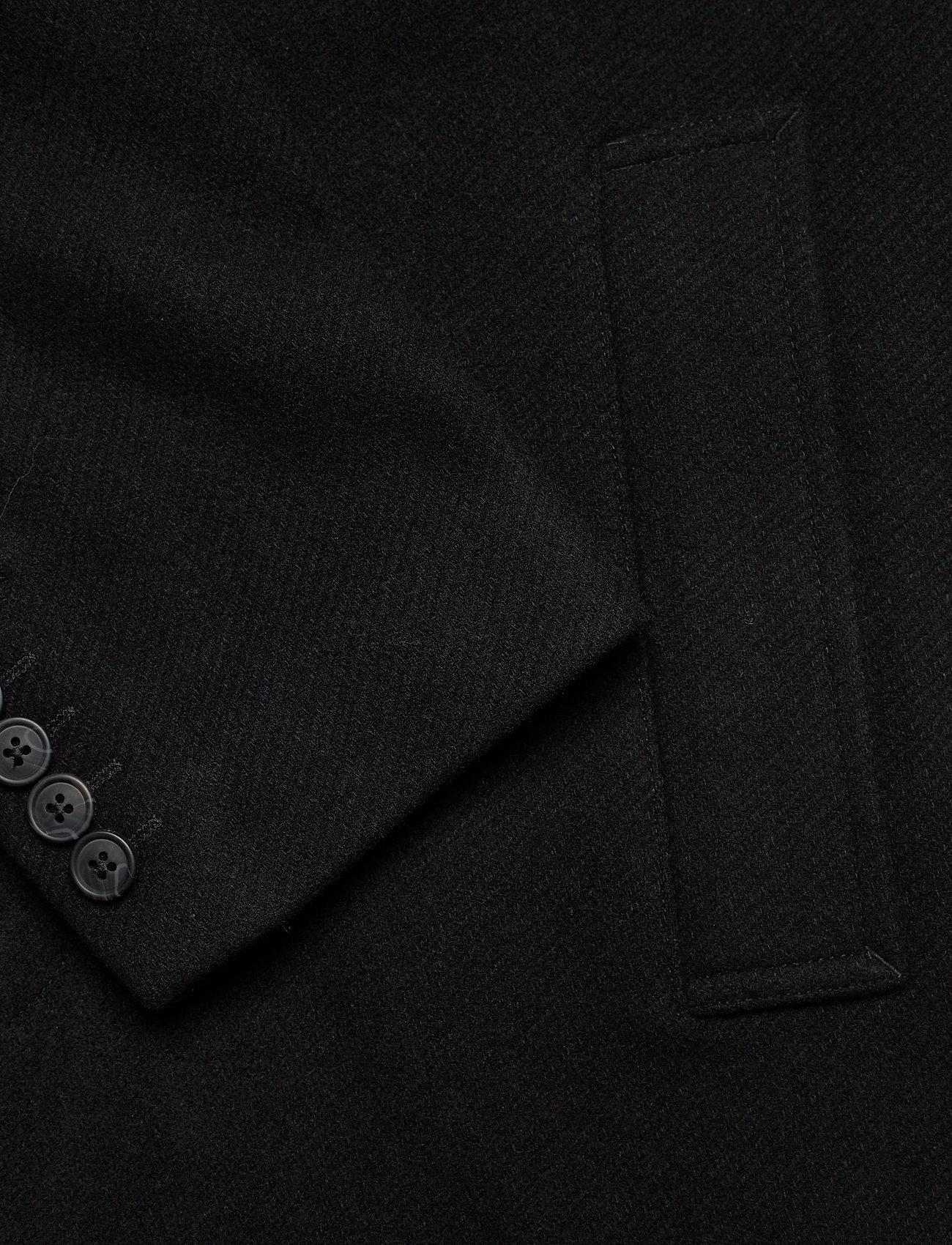 Selected Homme - SLHHAGEN  WOOL COAT B - wollen mantels - black - 3