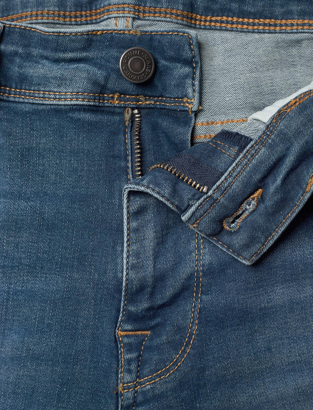 Selected Homme - SLHSLIM-LEON 6266 M.B SU-ST JEANS U - skinny jeans - medium blue denim - 3