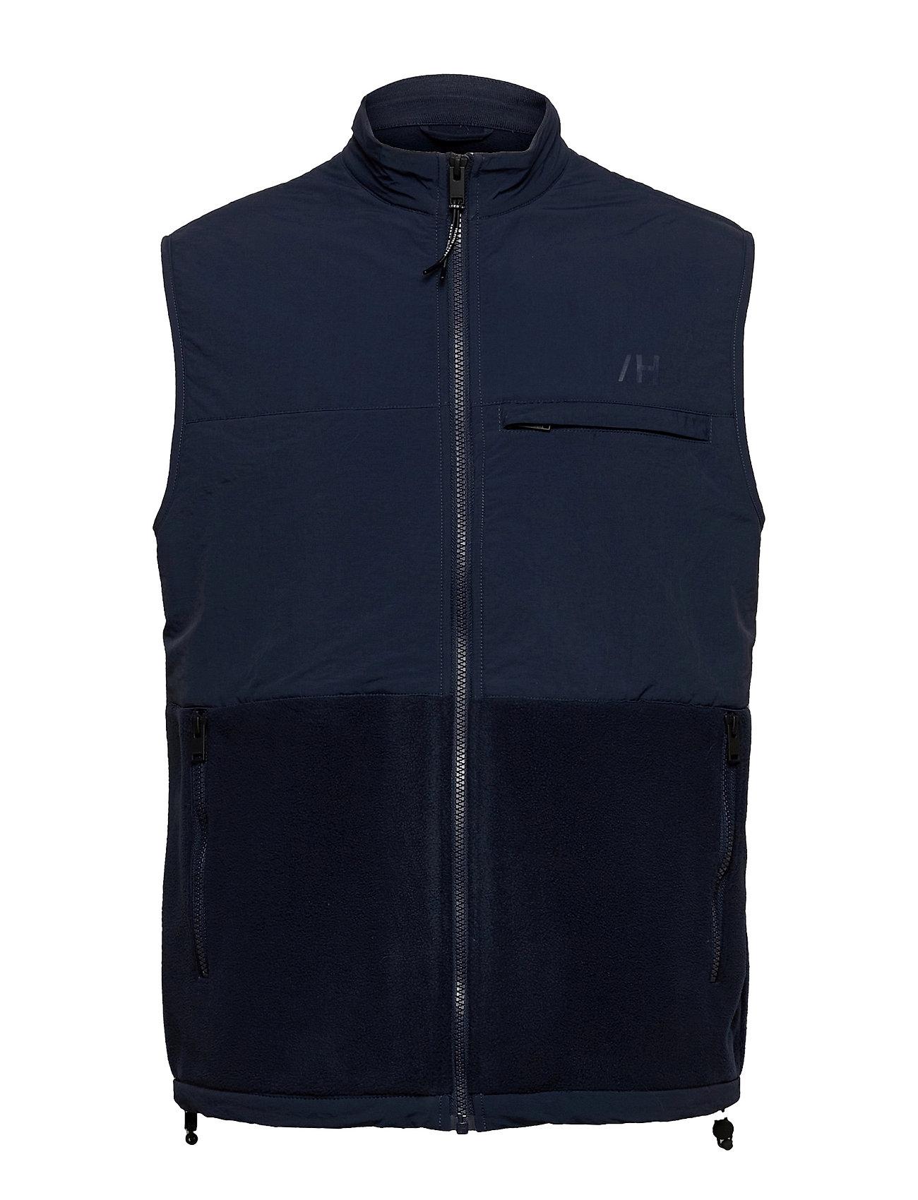 Slhnohr Fleece Vest W Vest Sort Selected Homme