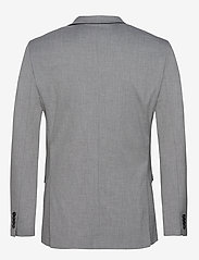 Selected Homme - SLHSLIM-MYLOLOGAN LIGHT GREY BLZ B NOOS - enkeltradede jakkesæt - light grey melange - 1