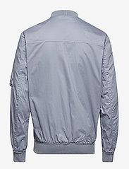 Selected Homme - SHNJASPER BOMBER JKT - bomber jackets - flint stone - 1