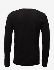 Selected Homme - SLHROCKY CREW NECK B NOOS - basic strik - black - 1