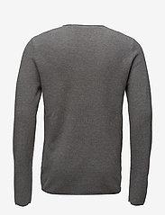 Selected Homme - SLHROCKY CREW NECK B NOOS - basic strik - medium grey melange - 1