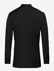 Selected Homme - SLHSLIM-MYLOBILL BLACK BLZ B - single breasted blazers - black - 1