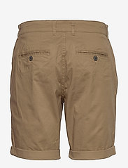 Selected Homme - SLHSTRAIGHT-PARIS SHORTS W NOOS - chino's shorts - camel - 1