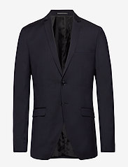 Selected Homme - SLHSLIM-MYLOBILL NAVY BLAZER B - single breasted blazers - navy blazer - 0
