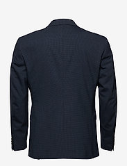 Selected Homme - SLHSLIM-BUFFALONOAH BLUE CHK BLZ B NOOS - single breasted suits - blue depths - 1