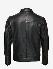 Selected Homme - SLH C-01 CLASSIC LEATHER JACKET W NOOS - nahkatakit - black - 1