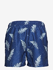 Selected Homme - SLHCLASSIC AOP SWIMSHORTS W - swim shorts - dark sapphire - 1