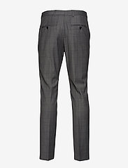 Selected Homme - SLHSLIM-MYLOROB GREY CHECK TRS B NOOS - suit trousers - grey - 1