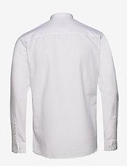 Selected Homme - SLHSLIMLINEN SHIRT LS CHINA B - basic skjorter - white - 1
