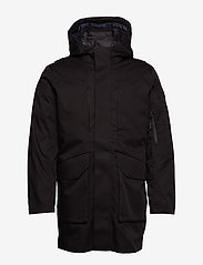 Selected Homme - SLHIKE TECH PARKA B - parka - black - 1