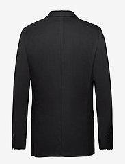 Selected Homme - SLHSLIM-MYLOSTATE FLEX BLACK BLZ B - single breasted blazers - black - 1