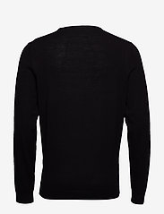 Selected Homme - SLHTOWER NEW MERINO CREW NECK B NOOS - rund hals - black - 1