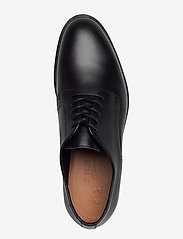 Selected Homme - SLHLOUIS LEATHER DERBY SHOE B NOOS - veterschoenen - black - 3
