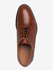 Selected Homme - SLHLOUIS LEATHER DERBY SHOE B NOOS - snøresko - cognac - 3