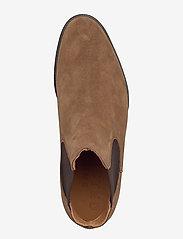 Selected Homme - SLHLOUIS SUEDE CHELSEA BOOT B NOOS - chelsea boots - cognac - 3