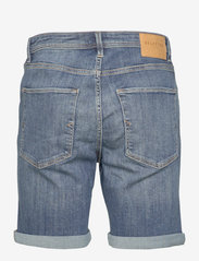 Selected Homme - SLHALEX 329 MBLUE SU-ST DNM SHORT W NOOS - farkkushortsit - medium blue denim - 1