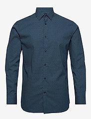 Selected Homme - SLHREGPEN-HARPER SHIRT LS B NOOS - chemises business - dark navy - 0
