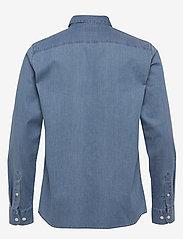 Selected Homme - SLHREGSEL-NOOR SHIRT LS B NOOS - podstawowe koszulki - medium blue denim - 1