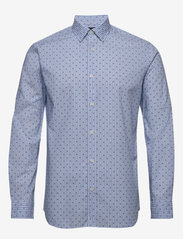 Selected Homme - SLHREGPEN-SIXTEN SHIRT LS B NOOS - chemises business - light blue - 0