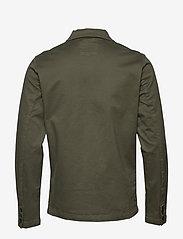 Selected Homme - SLHJAKE JACKET W - podstawowe koszulki - beetle - 1