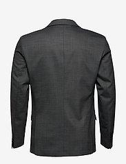 Selected Homme - SLHSLIM-MYLOSTATE FLEX GR STR BLZ B NOOS - enkeltradede blazere - grey - 1