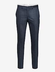 Selected Homme - SLHSLIM-MYLOSTATE FLEX BL STR TRS B NOOS - suitbukser - dark blue - 0